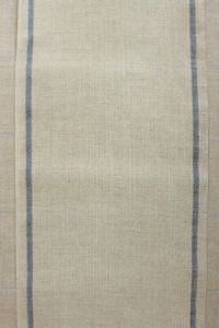 12 count linen swatch band blue/natural 20 x 19cm