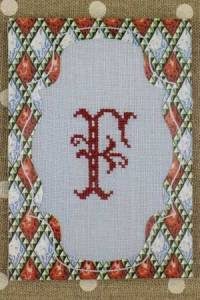 Sajou cross stitch kit Calais pass-partout