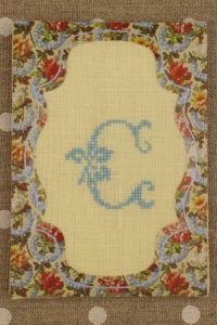 Sajou cross stitch kit Valence pass-partout