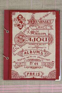 Cross stitch kit : Sajou album cover note pad