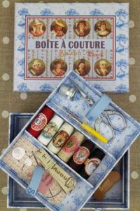 Complete sewing set Small Model - French Provinces