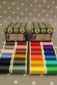 Fil Au Chinois cotton sewing threads assortments 3 and 4