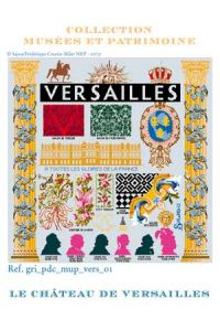 Sajou cross-stitch pattern chart: Versailles Palace