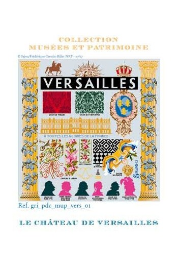 Sajou cross-stitch kit: Palace of Versailles