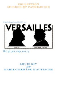 Sajou cross-stitch pattern chart: Louis XIV and Marie-Thérèse of Austria