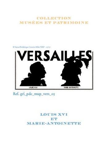 Sajou-Kreuzstichvorlage: Ludwig XVI. und Marie-Antoinette