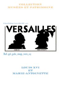 Sajou cross-stitch pattern chart: Louis XVI and Marie-Antoinette