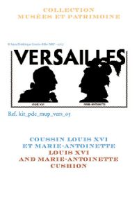 Cross stitch kit: Louis XVI and Marie-Antoinette