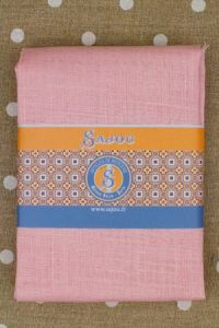 Pink linen square - 70 x 70cm for large Marie-Antoinette pattern