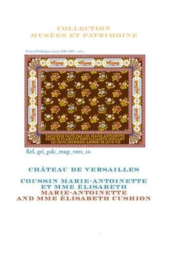 Sajou cross-stitch pattern chart: Marie Antoinette and Mme Élisabeth Tapestry