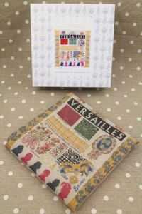 Buy together: Versailles kit and linen printed tea towel