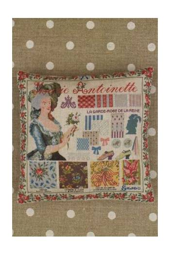 Kit couture petit coussin grille Marie-Antoinette