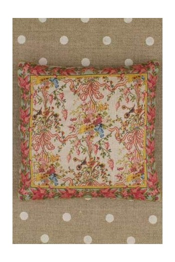 Small Sajou Queen's Bedchamber fabric cushion to sew