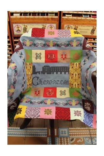 Sajou Chenonceau plaid to embroider in Museums & Heritage Collection
