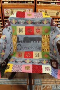 Chenonceau plaid to embroider Museums & Heritage