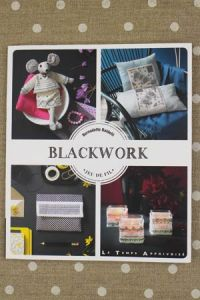 Cover of Bernadette Baldelli Blackwork book