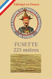 Fil Au Chinois metallized thread size 15 - colour n°110 - Old Gold