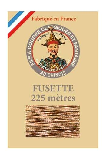 Fil Au Chinois metallized thread size 15 - colour n°130 - Copper