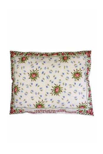 Sajou embroidered cushion: Queen's Bedchamber cushion in Petit Trianon