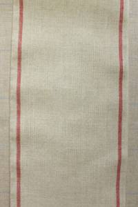 12 count linen swatch band red/natural 20 x 24cm
