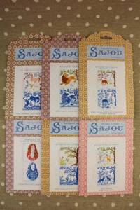 Buy together: six La Fontaine's Fables pattern charts series 1