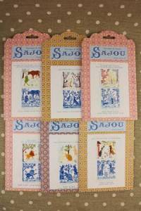 Buy together: six La Fontaine's Fables pattern charts series 4