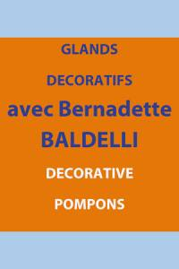 Decorative pompons Bernadette Baldelli 10th July 2019 – 10.30am to 4.30pm