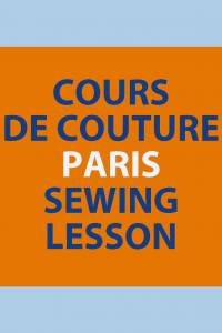 Sewing lessons Elisabeth Rozec 14th  May 2019 2.00pm to 4.00pm