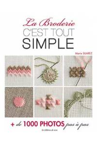 Cover of Marie Suarez Embroidery Made Easy book
