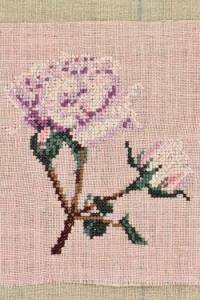 Cross stitch kit: Rose small model