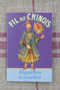 20 sewing needles - sizes 3, 5, 7 & 9 – Fil Au Chinois booklet