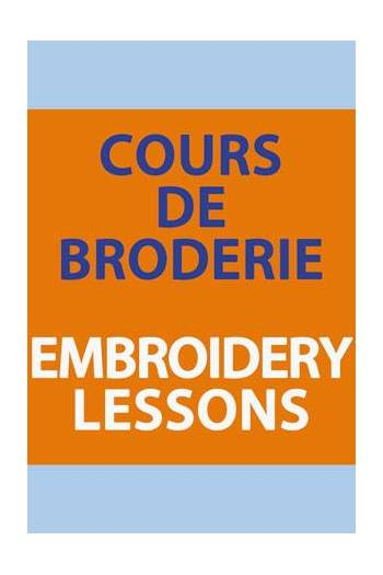 Embroidery lessons Carole Magne 29th August. 2019 2.30pm to 4.30pm