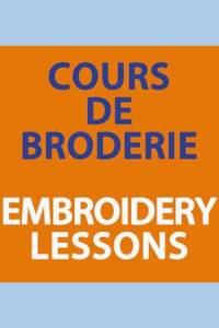 Embroidery lessons Carole Magne 14 October. 2019 2.30pm to 4.30pm