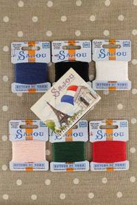 Sajou Retors du Nord embroidery floss by six in gift box