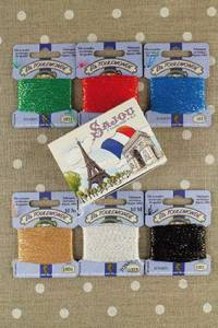 Sajou Tonkin embroidery thread by six in gift box