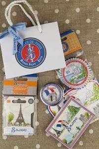 Sajou Christmas gift bag Paris