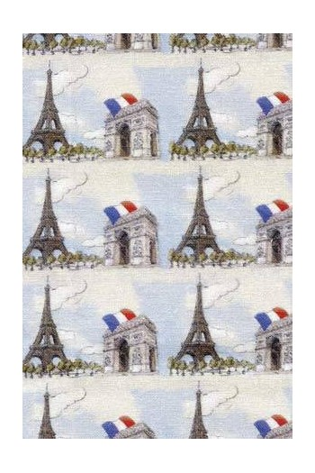 Fat Quarter Sajou-Stoff Paris Beistoff 1
