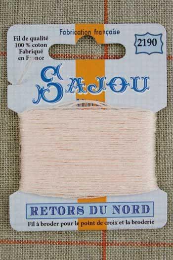 Stickgarn Retors du Nord Sajou Nr.2190 Blassrosa