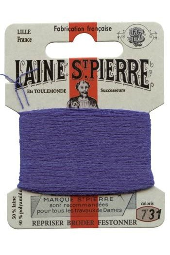 Laine Saint-Pierre 10 m card darning / embroidery 731 Ocean