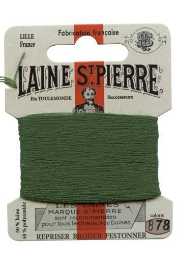 Laine Saint-Pierre 10 m card darning / embroidery 878 Forest