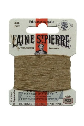 Laine Saint-Pierre 10 m card darning / embroidery 922 Bark