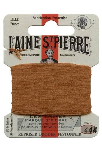Laine Saint-Pierre 10 m card darning / embroidery 444 Cognac