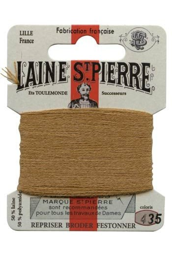 Laine Saint-Pierre 10 m card darning / embroidery 435 Hazelnut