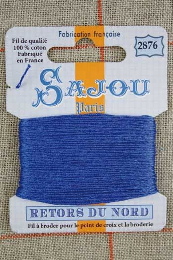Sajou embroidery thread Retors du Nord n°2876 Agate