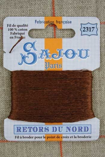 Sajou embroidery thread Retors du Nord n°2317 Pheasant