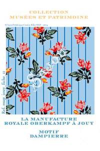 Cross-stitch pattern chart: Dampierre, toile de Jouy