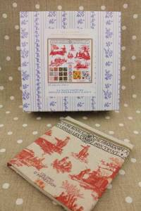 Buy together: Sajou Jouy kit and linen printed tea towel