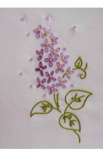 Embroidery lessons Carole Magne 7th October. 2020 2.30pm to 4.30pm