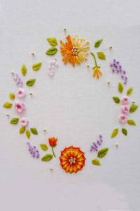 Embroidery lessons Carole Magne 10th December. 2020 2.30pm to 4.30pm