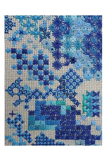 Tapestry class Catherine Rouchié 9th October 2020 2.30pm to 4.30pm